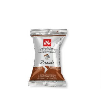 illy iperespresso flowpack Brazilië